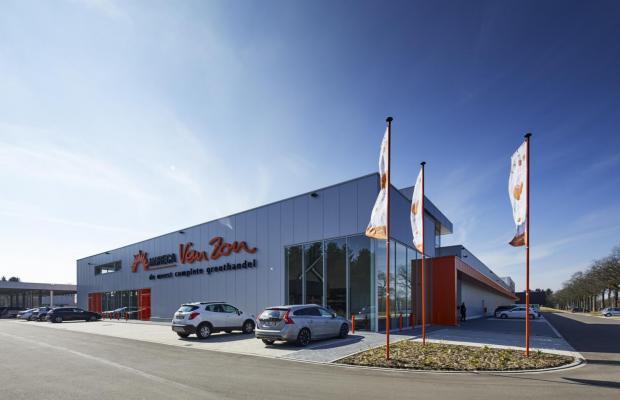 Horeca Van Zon Beerse cash and carry zelfbedieningsgroothandel nieuwbouw investering Mathieu Gijbels limburg